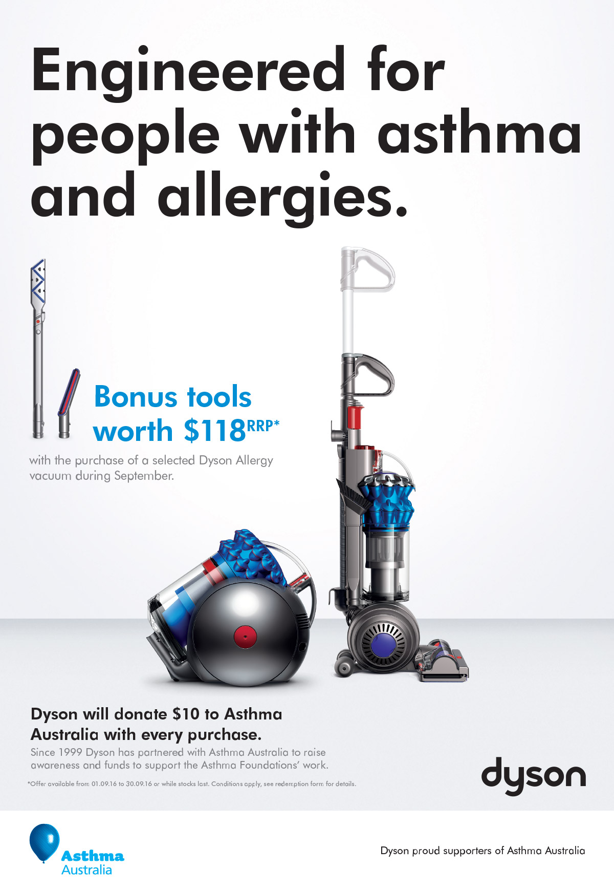 asthma australia promo 2016 discover dyson. Black Bedroom Furniture Sets. Home Design Ideas